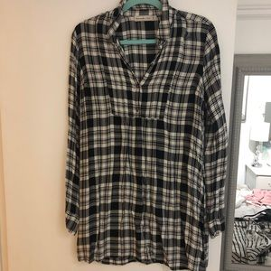 Abercrombie flannel dress/shirt